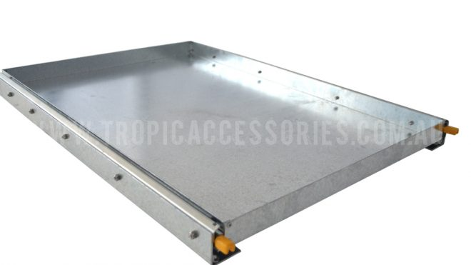 Fridge Slide-Large Galvanised (FS-2)