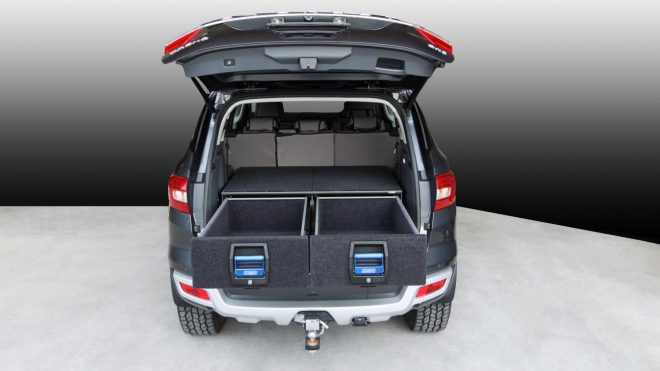 MSA FORD EVEREST DOUBLE DRAWER SYSTEM