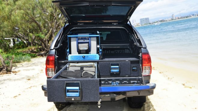 MSA TOYOTA HILUX 8TH GEN DOUBLE DRAWER SYSTEM