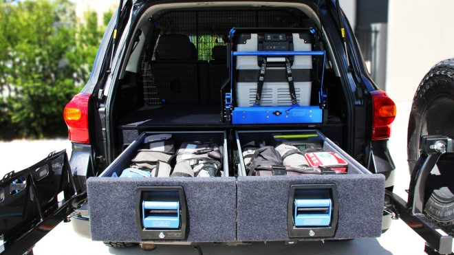 MSA TOYOTA LANDCRUISER LC200 SERIES DOUBLE DRAWER SYSTEM